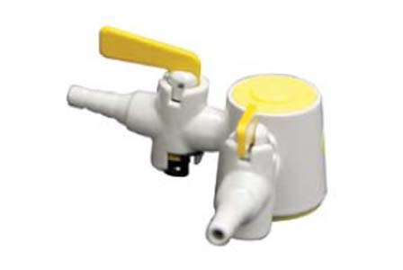 METHOD Gas Fittings 2 Way 90° Drop Key Bench Gas Valve
