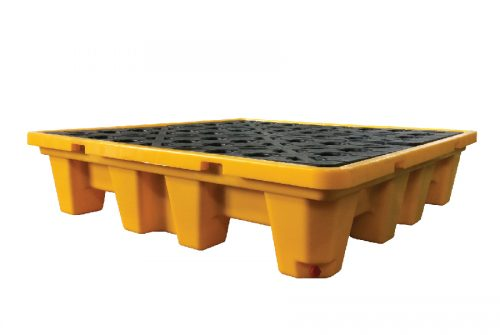 METHOD Polyethylene Spill Pallets 4 Drums