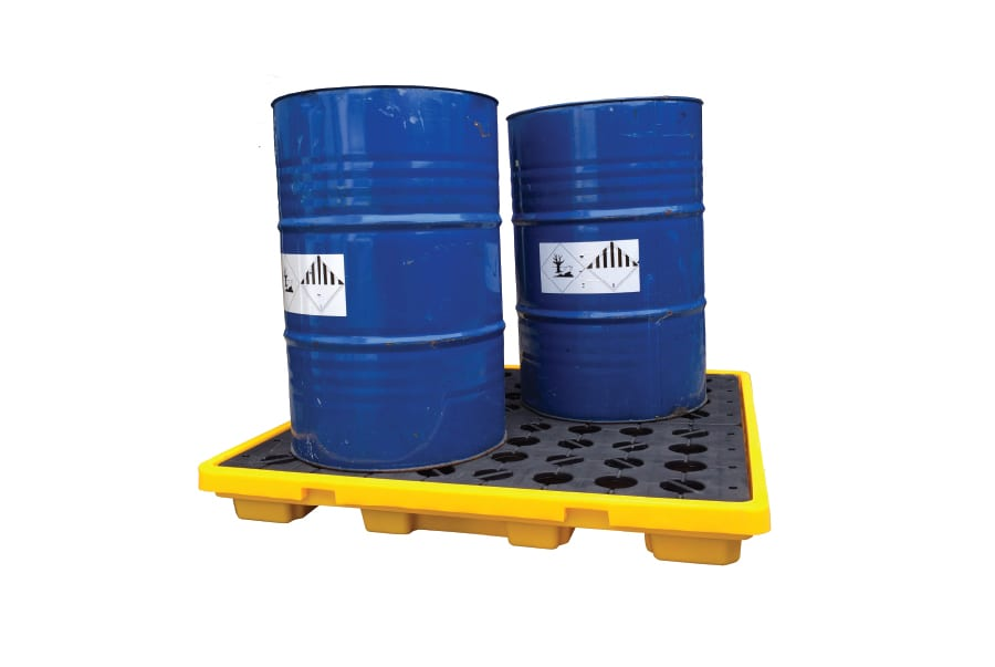METHOD Polyethylene Spill Decks 4 Drums