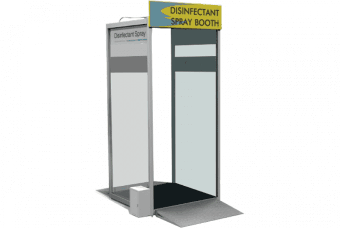 METHOD Disinfectant Spray Booth