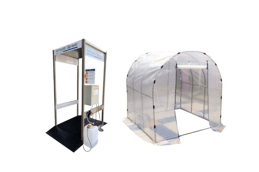 METHOD Disinfection Spray Booth and Tent