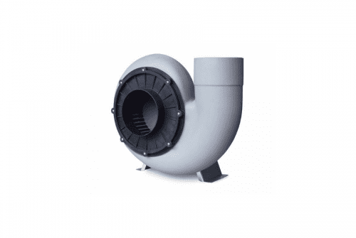 Chemical Resistant Centrifugal Fan with Motor